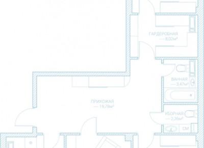 Продажа 3-комн. квартиры в новостройке, 105.9 м², этаж 10 из 10