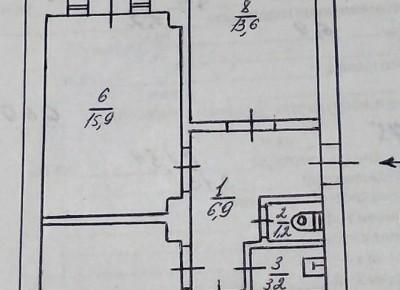 Продажа 3-комн. квартиры, 68 м², этаж 1 из 3
