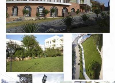 Дом 1500 м² на участке 550 соток