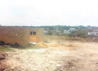 Продам видовой участок с начатым строительством дома 55 кв.м.